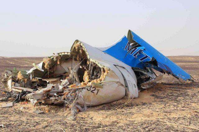 Самодельное взрывное устройство заложили в хвостовую часть лайнера.