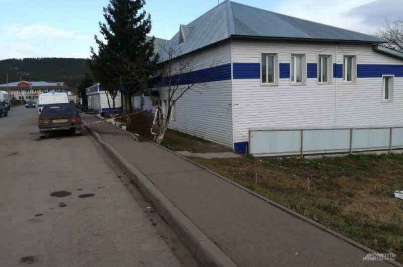 Полицейский участок, на который напал подросток.