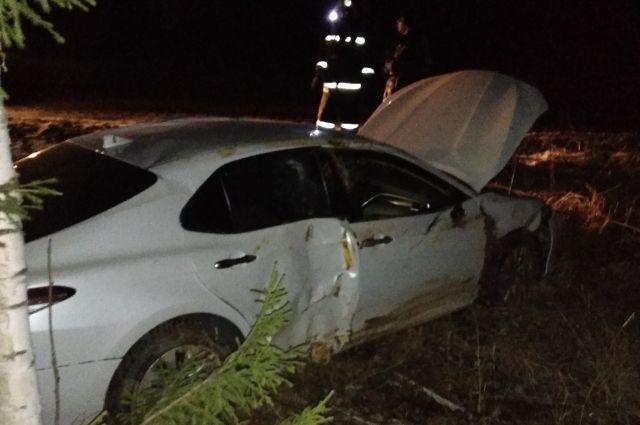 В дорожной аварии пострадал мужчина.