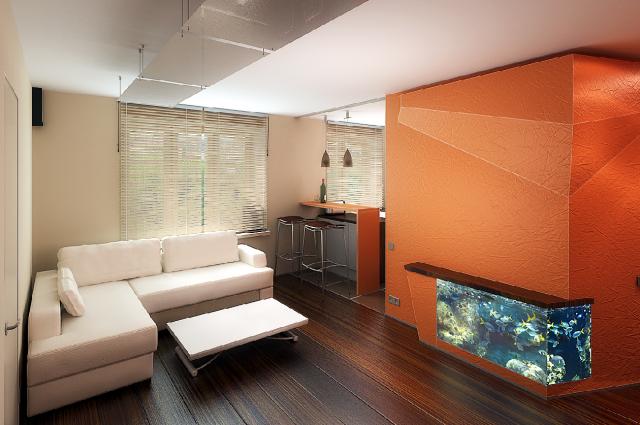 Если внесенные предыдущим хозяином изменения вам понравятся – вы можете получить квартиру своей мечты. Архитекторы-дизайнеры: Бродовская А., Бродовский Ю.