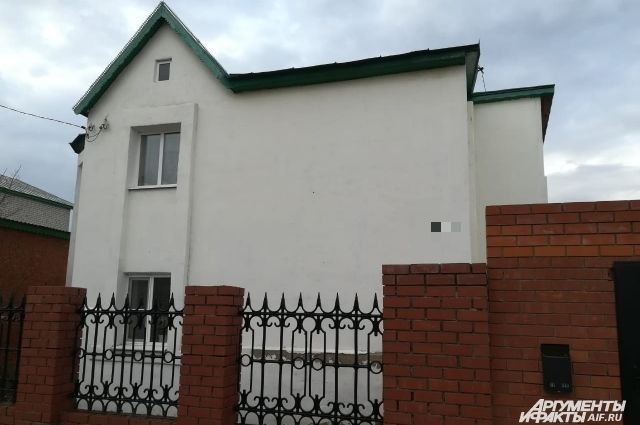 Дом, где жил подросток