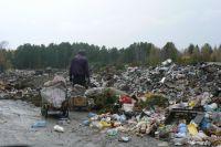 В Оренбурге мусорные горы спрятали в котлованы, вырытые на территории земель сельскохозйственного назначения.