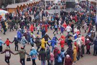 День народного единства в Красноярске до пандемии отмечали народными гуляниями.