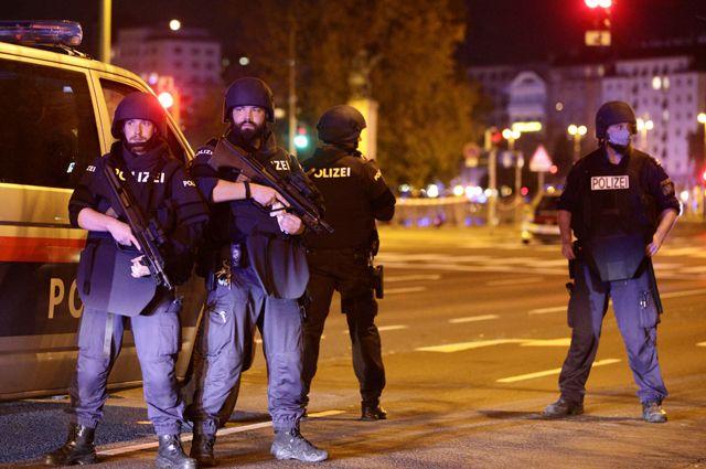 Теракт в Вене.