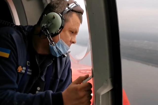 Под Киевом пропали два рыбака: спасатели задействовали для поиска вертолет