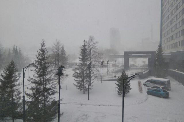 В Новосибирской области ожидается ухудшение погоды.