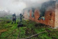 В Черкасской области на пожаре погибли три человека, среди них - ребенок