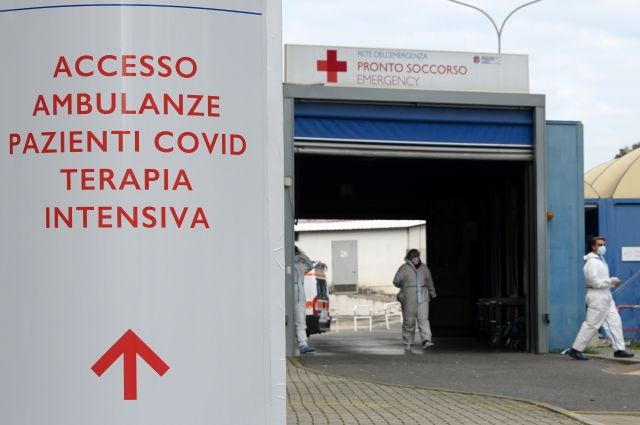 Рим в пандемию коронавируса