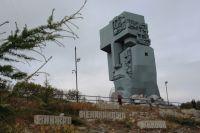 «Маска скорби» - символ жертв политических репрессий всей страны.