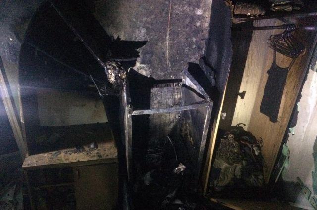 В Харькове загорелось студенческое общежитие: подробности