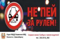 В Новосибирске каждые выходные будут проходить антиалкогольные рейды Госавтоинспекции.