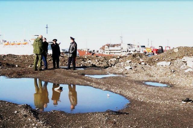 Тело мальчика обнаружили в промзоне морского порта