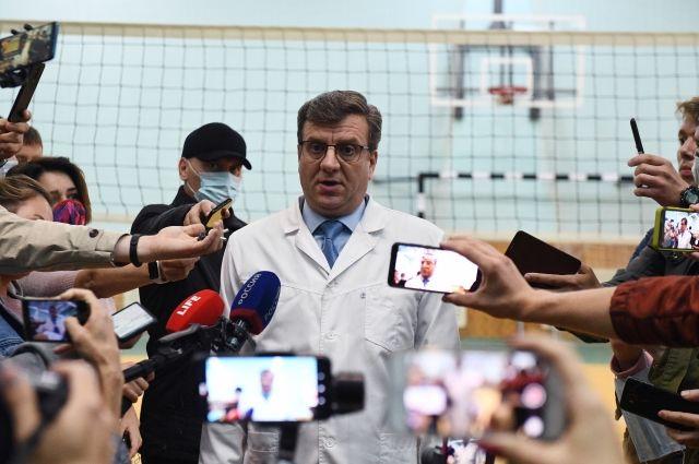 Главный врач омской БСМП №1 Александр Мураховский