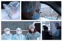 Глава Салехарда Алексей Титовский помог медикам доставлять лекарства