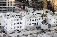 Продолжается строительство детсада в районе Московского тракта в Тюмени
