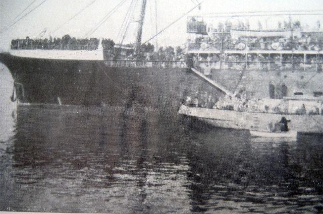 Эвакуация армии Врангеля из Крыма.