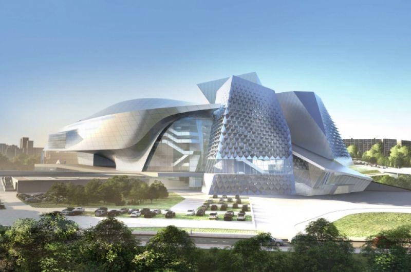 Проект в Кемерове может стать первой работой в России архитекторов Coop Himmelb(l)au).