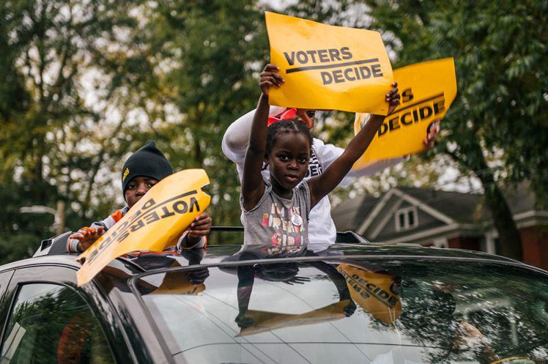 Дети в Атланте, Джорджия.