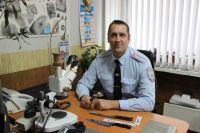 Майор Битусов более четверти века на службе.