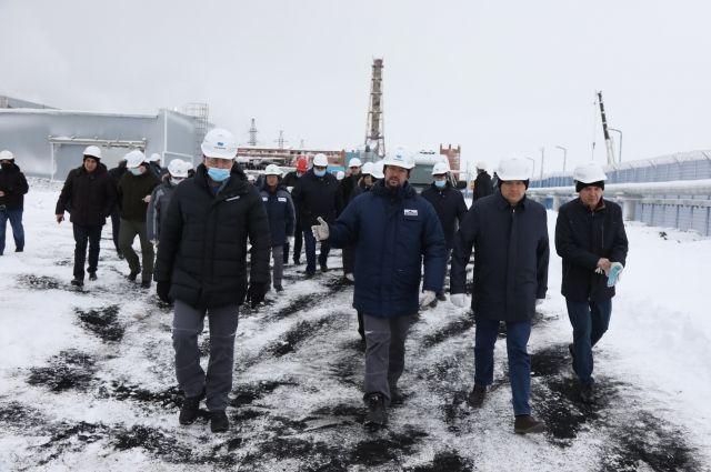 Совет Федерации посетил Норильск.