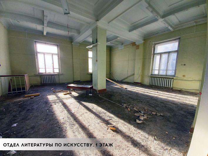 Ремонт главного книгохранилища региона обойдётся республике в 114 млн руб.