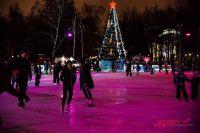 Главный каток Новосибирска зальют в середине декабря.
