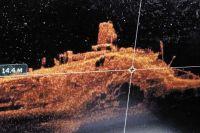 Пароход «Вера Фигнер», который бороздил речные просторы с 1904 г. до 1960 г., сейчас находится на глубине 12-18 метров.