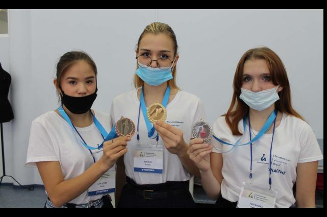 Медалисты «Абилимпикса»