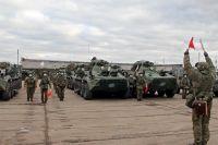 Миротворцы перед отправкой на аэродром Ульяновск-Восточный. 10.11.2020 г.