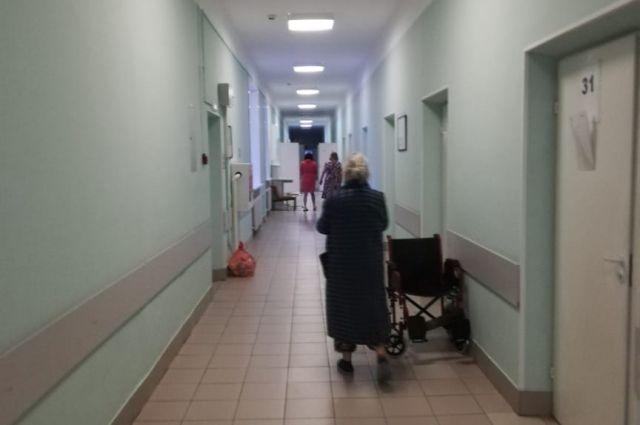 Ковидный госпиталь на базе роддома №2 в Новосибирске.