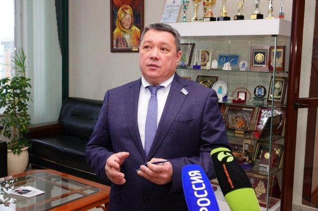 Спикер Заксобрания ЯНАО Сергей Ямкин