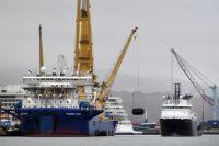 Трубоукладчик «Академик Черский» готовится к продолжению строительства газопровода «Северный поток - 2».