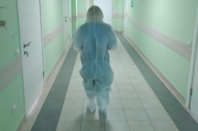 Выходить в коридор из палаты нельзя.
