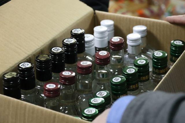 Правоохранители изъяли более 2 тысяч бутылок водки «Югра»