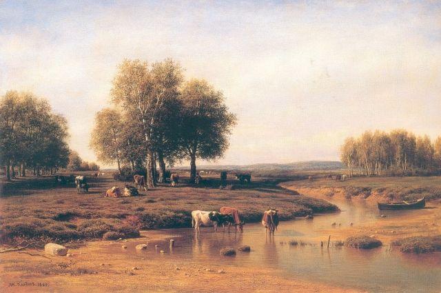 Посмотреть выставки одной картины Михаила Нестерова «Святая Русь» и «Пейзаж в творчестве художников XIX - начала XX века» можно до 15 февраля 2021 г.