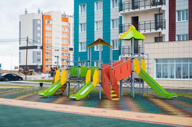 В Югре в этом году интенсивно шло строительство социальных объектов и жилых домов