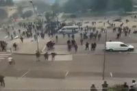 Выяснение отношений между чеченцами и африканцами вылилось в беспорядки во французском Дижоне в июне 2020 года