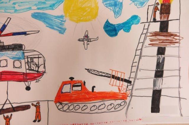 От нефтяников дети узнали, как работает сегодня Куюмбинское месторождение.