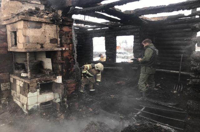 Предварительные причины пожара в Новомихайловке установлены.