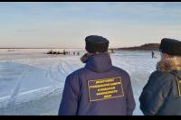 Спасатели будут предупреждать об опасности выхода на лед