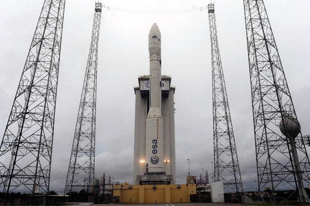 Европейская ракета-носитель «Вега».