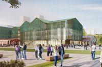 Проект нового здания пермской художественной галереи.