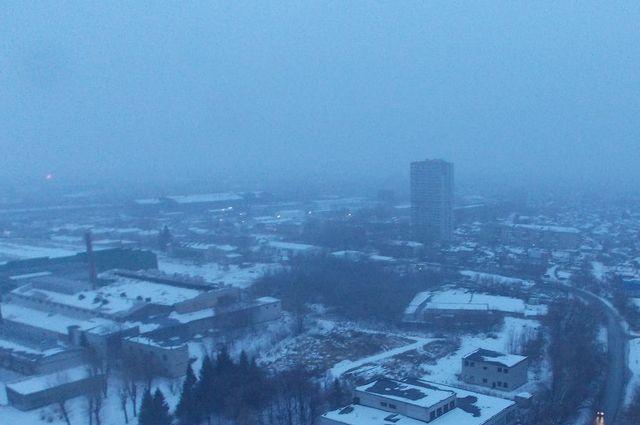 Небольшой снегопад пройдет в Новосибирске в первой половине дня