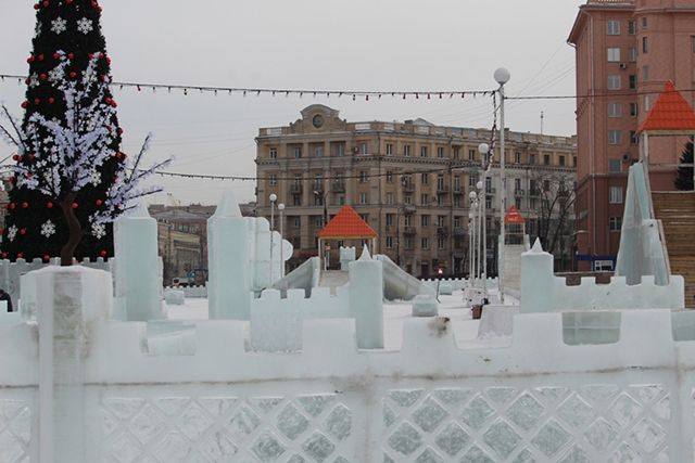 В Иркутске появится ледовой городок из персонажей сказок и мультиков