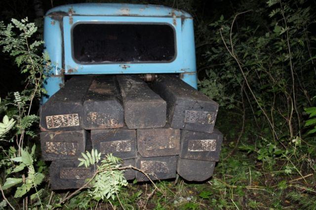 Жителей Пермского края осудили за кражу шпал на железной дороге