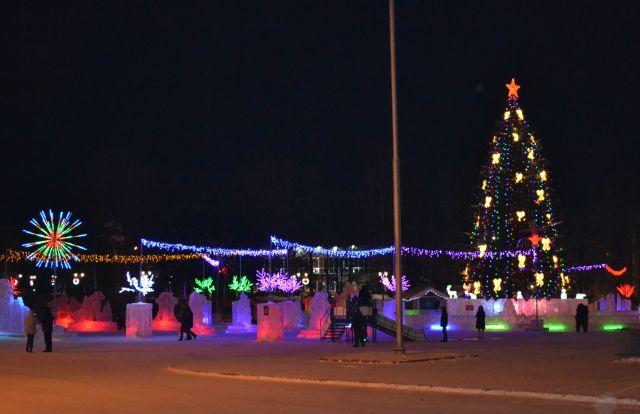 Стало известно, как украсят Сыктывкар к главному зимнему празднику.