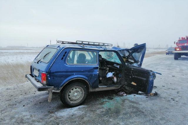 В Чулымском районе Новосибирской области сегодня, 18 ноября, ДТП унесло жизни двух человек.