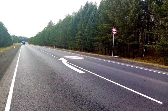 В ходе ремонта специалисты полностью заменили дорожное покрытие.