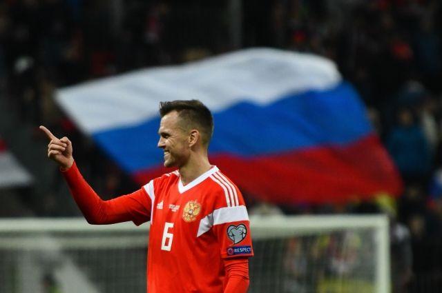 В отборочном турнире ЧЕ-2020 Денис Черышев забил первый и последний голы сборной России.