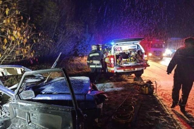 В Житомирской области произошло смертельное ДТП